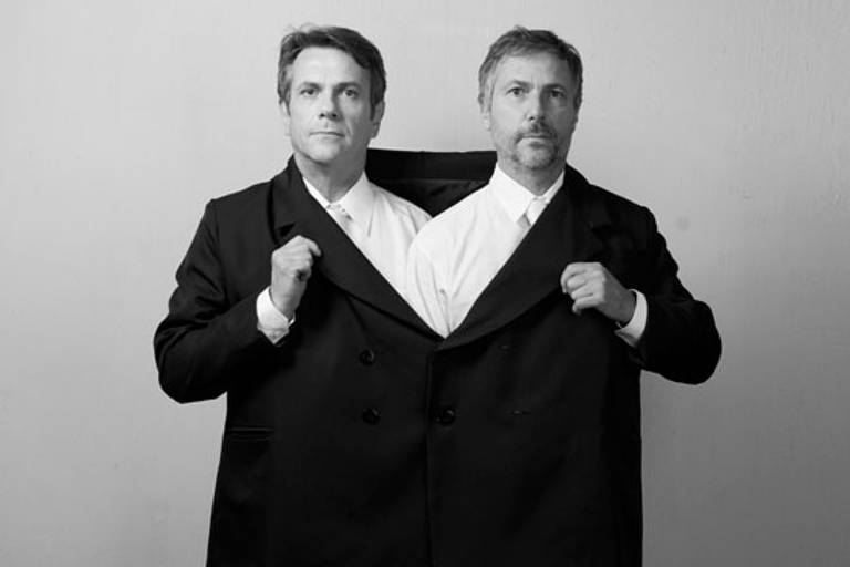 Os designers Fernando e Humberto Campana, homenageados na semana de design