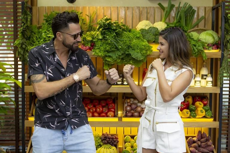Imagens do programa É de Casa (Globo) 2019