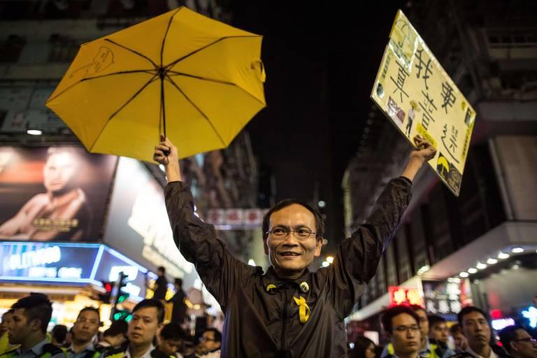 O histórico de protestos em Hong Kong