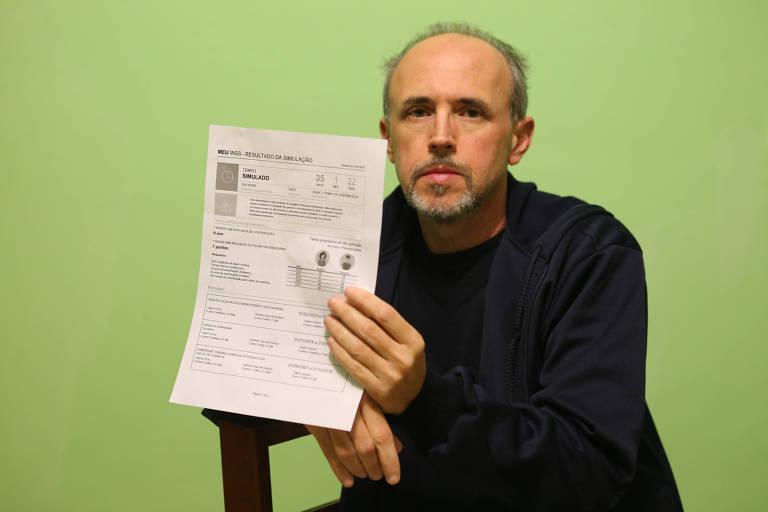 O segurado Marcelo Fernandes Garcia aguarda resposta ao seu pedido de aposentadoria para poder comprar um apartamento