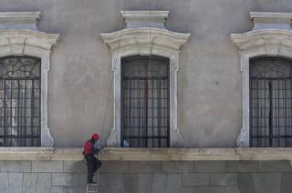 Reforma da fachada da São Francisco