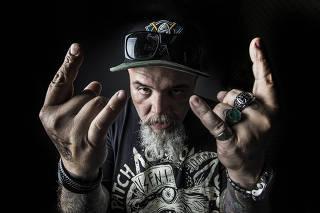 João Gordo, vocalista do Ratos de Porão