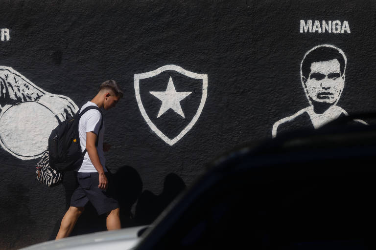 A sede do Botafogo