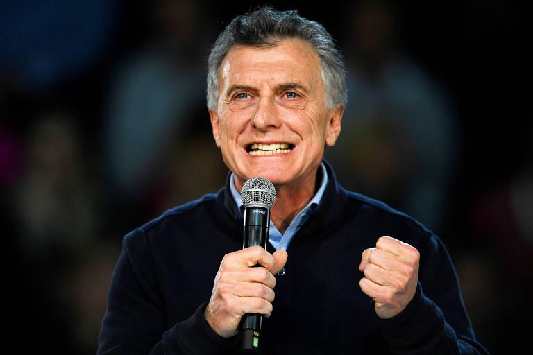 Macri faz comício às vésperas das primárias na Argentina