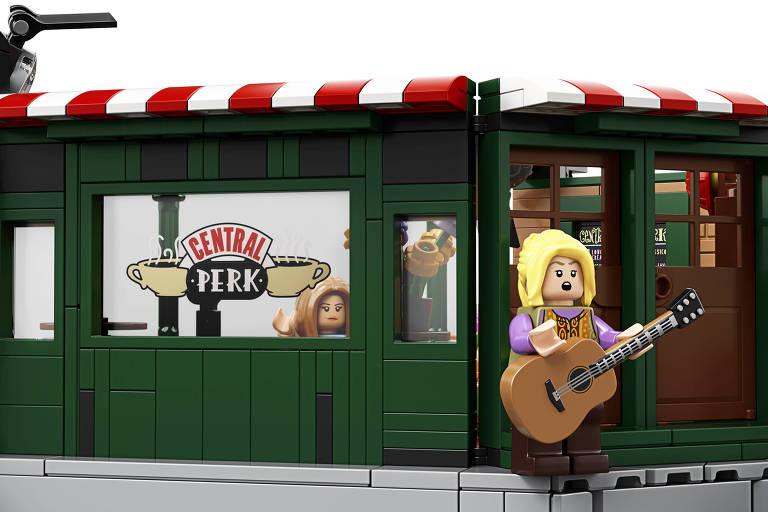 Lego lança conjunto inspirado em 'Friends'
