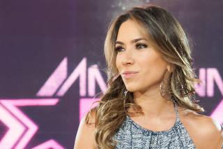 A apresentadora Patricia Abravanel