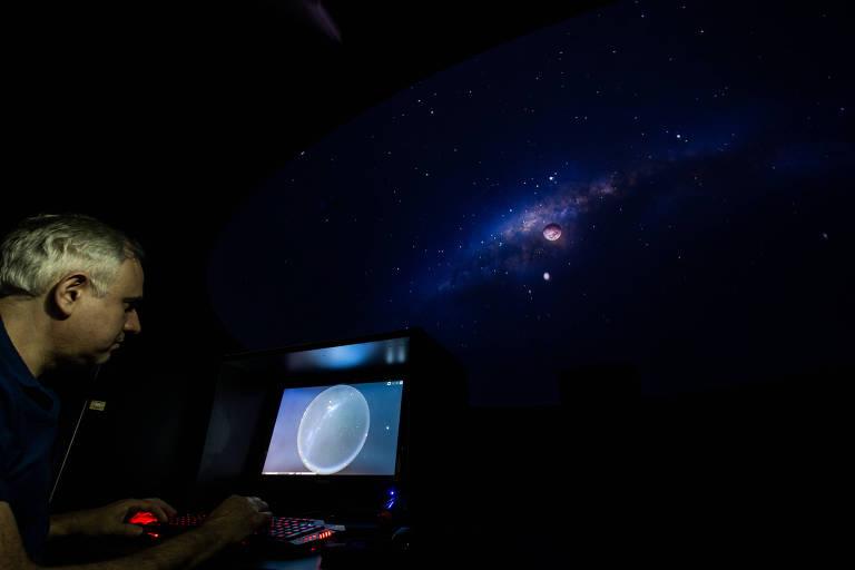 Telescópio em Amparo (SP) permite a qualquer um ver planetas