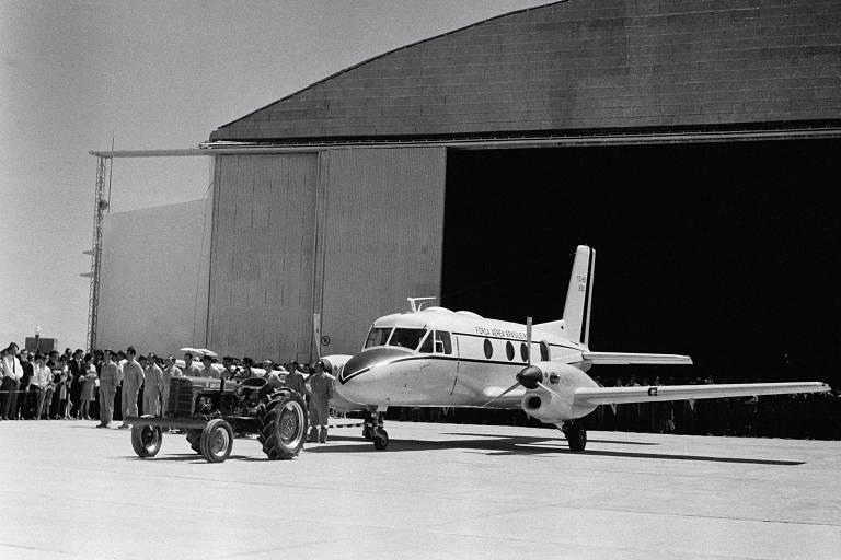 O Bandeirante, avião que deu origem à Embraer