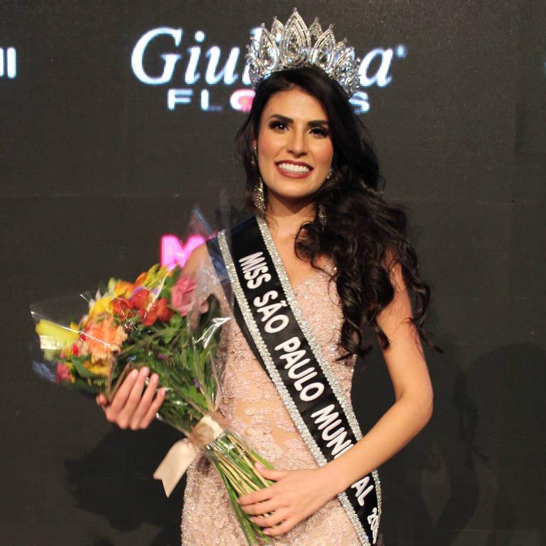 Ana Júlia Prado de Oliveira, da Bela Vista, vence concurso de Miss São Paulo Municipal 2020