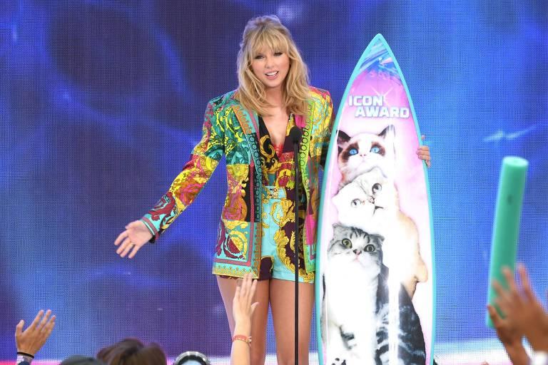 Taylor Swift no Teen Choice 2019
