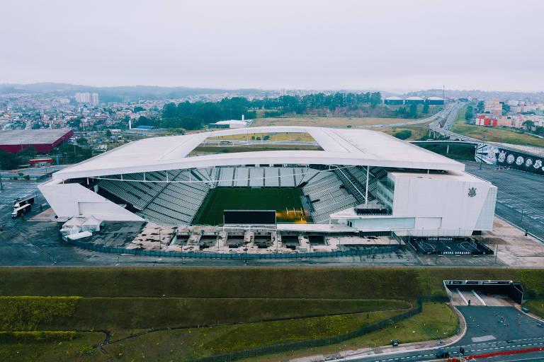 Inaugurada em 2014, estádio em Itaquera acabou virando um problema para o clube alvinegro