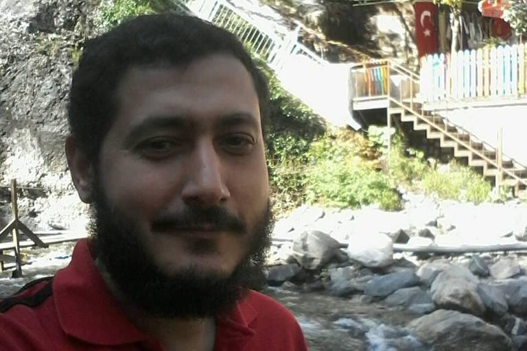 O egípcio Mohamed Ahmed Elsayed Ahmed Ibrahim, em foto enviada por seu advogado