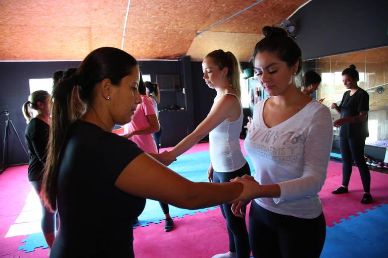 Curso de defesa pessoal para mulheres em Florianópolis
