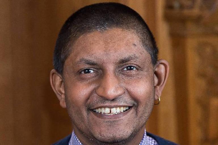 O economista Vimal Ranchhod