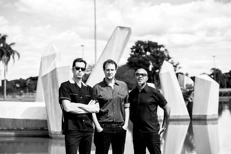 A banda brasiliense Plebe Rude toca canções do The Who