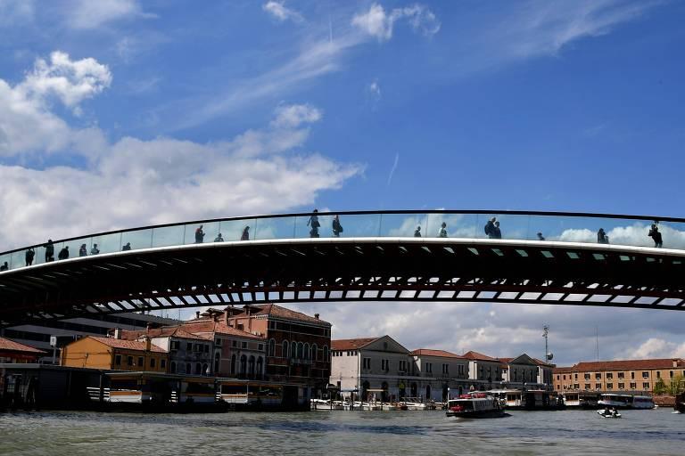 Calatrava deverá pagar indenização por 'negligência' em obra de ponte em Veneza