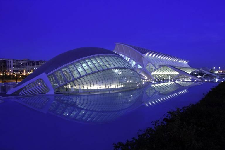 Veja outras construções de Santiago Calatrava