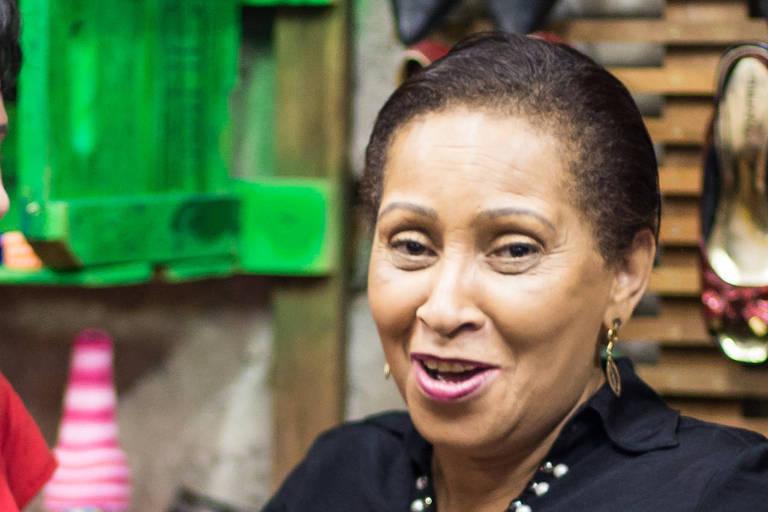 A líder sem-teto Carmen Silva Ferreira, em foto de 2017