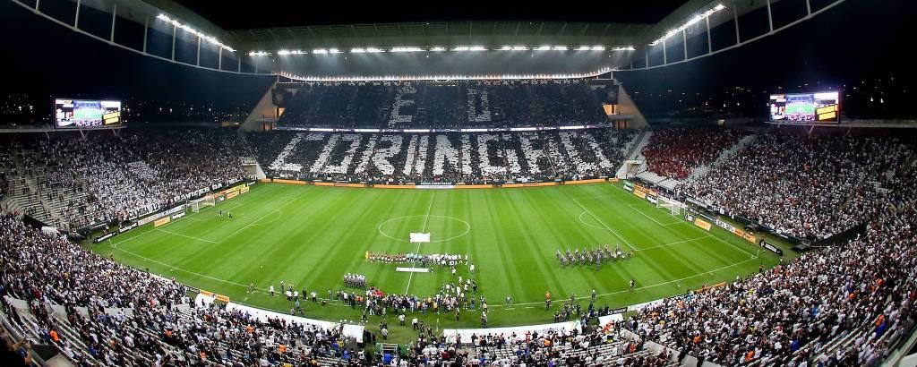 Arena Corinthians, em Itaquera