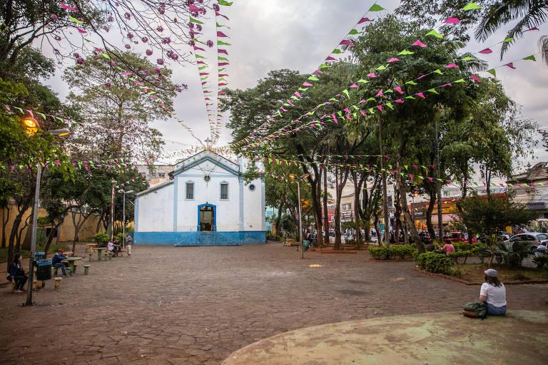 Igreja de Nossa Senhora do Rosário dos Homens Pretos, ponto de encontro do Cortejo de Memória da Zona Leste
