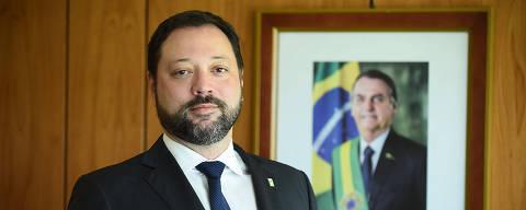 BRASILIA , DF , 17.05.2019 , BRASIL , Novo Presidente do INEP, Alexandre Ribeiro Pereira Lopes. Credito Luis Forpes /  Mec