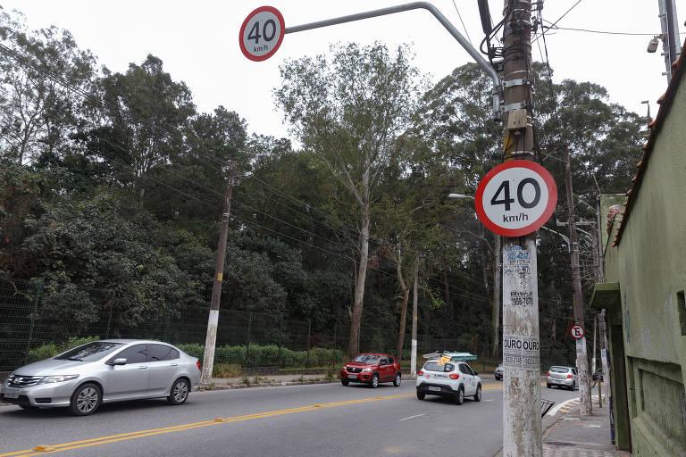 Limite de velocidade na av. Santa Inês cai para 40 km/h