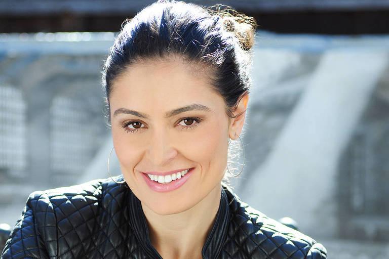 A atriz Franciely Freduzeski