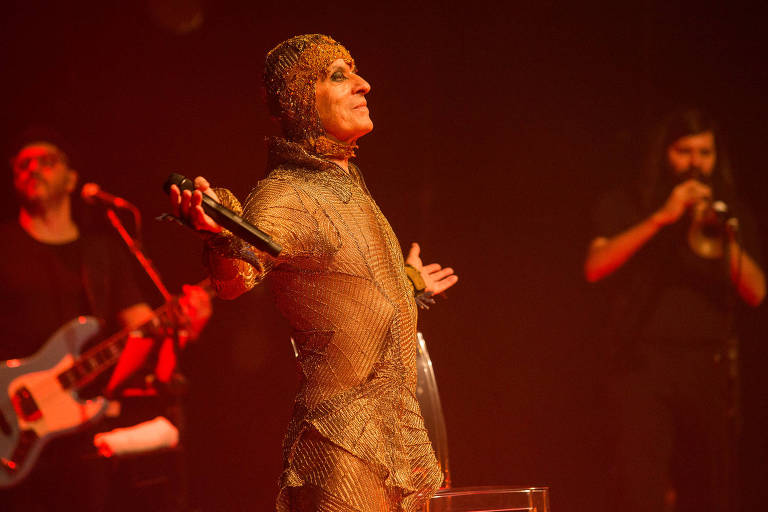 O cantor Ney Matogrosso