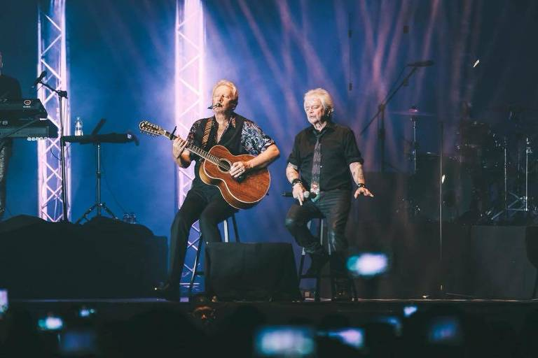 O duo australiano Air Supply