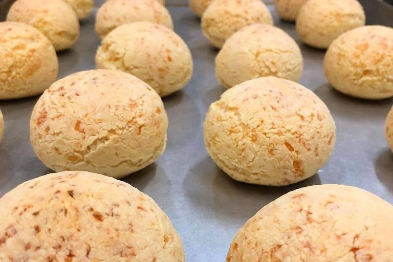 Pão de queijo do Fazemos Pão