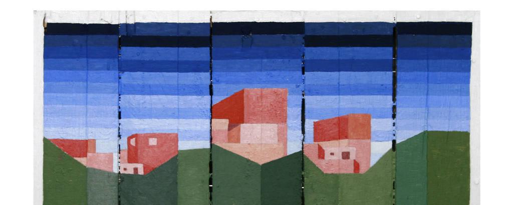 Obra de Desali da série exibida no 36º Panorama do MAM-SP
