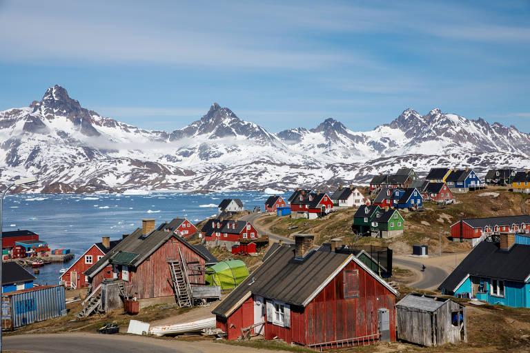 Veja imagens da Groenlândia