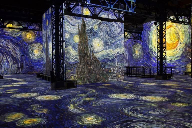 Exposição interativa de Van Gogh na França