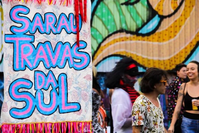 Sarau Travas da Sul reúne artistas LGBTQI+ da periferia de SP