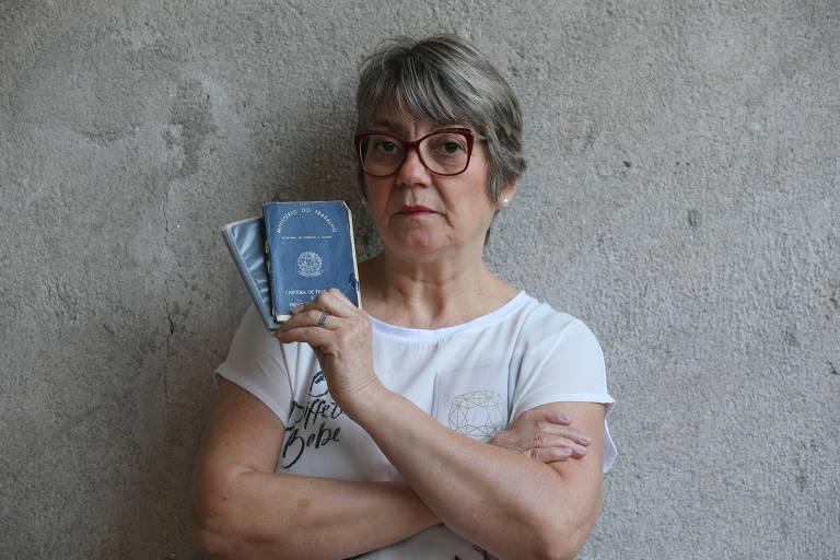 Maria Isabel Jeronimo Stocco, 58 anos, conta que foi demitida do banco meses após solicitar a sua aposentadoria por tempo de contribuição