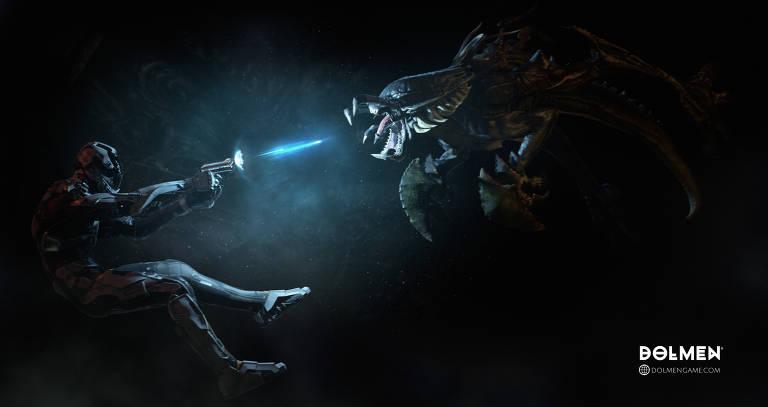 Vejas imagens do jogo 'Dolmen'