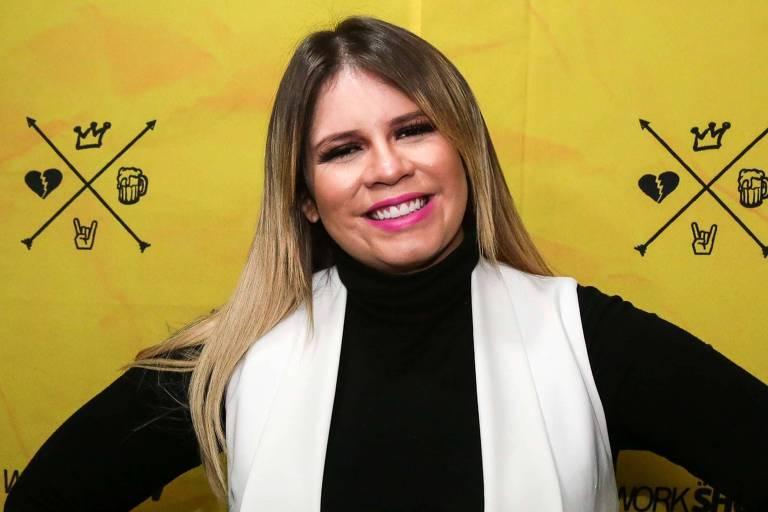 Marília Mendonça na Festa Junina Beneficente 2019, no Parque das Águas na cidade de Sorocaba (SP)