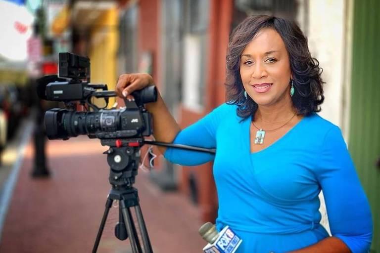 A jornalista Nancy Parker