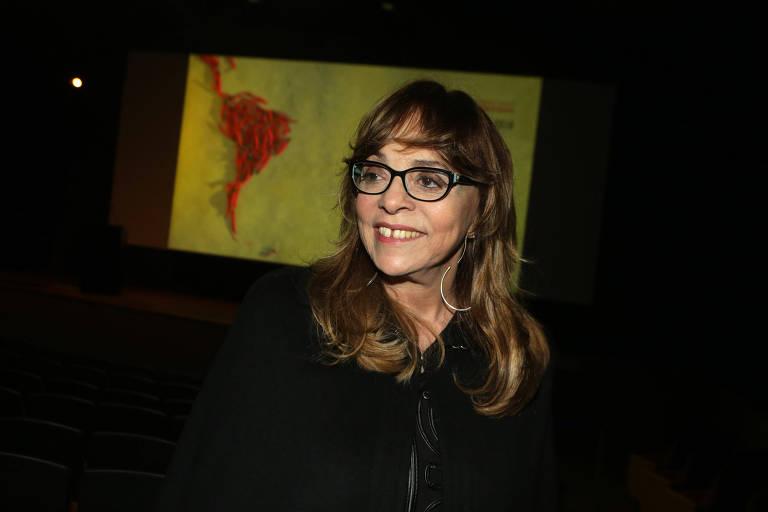 A autora de novelas Gloria Perez