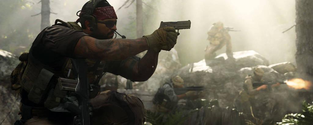 Imagem de 'Call of Duty 4: Modern Warfare'