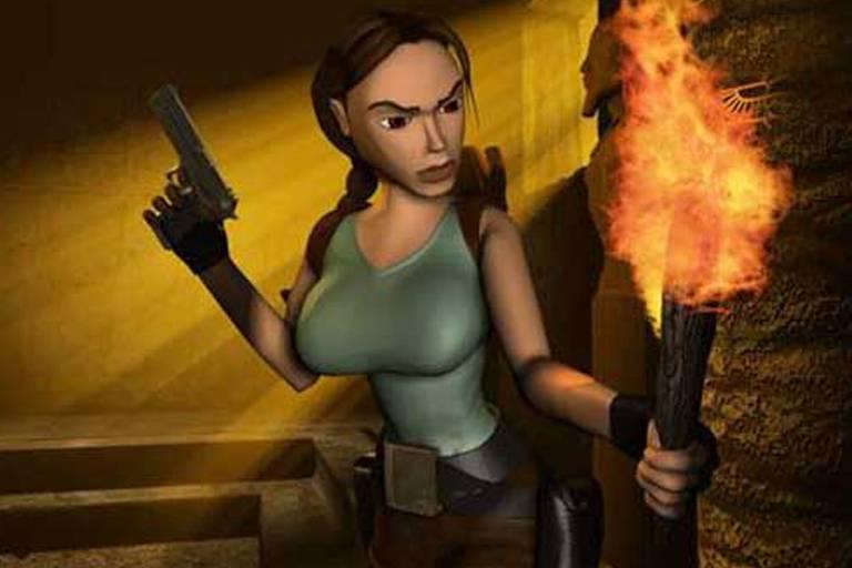 Veja a evolução de Lara Croft