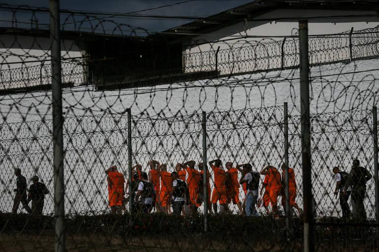 Presídio masculino no Complexo Penitenciário de Pedrinhas, em São Luís (MA), palco em 2013 de algumas das maiores rebeliões do país