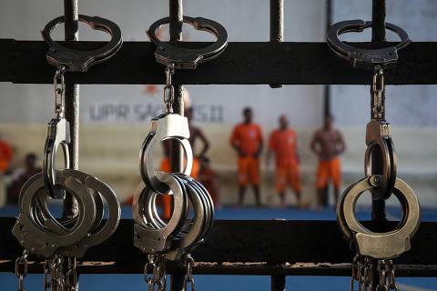 SAO LUIS/ MA, BRASIL, 16-08-2019: Presidio masculino no Complexo penitenciário de Pedrinhas, em São Luís (MA), palco em 2013 de algumas das maiores rebeliões do país nas últimas décadas.   (Foto: Zanone Fraissat/Folhapress, AGENCIA)***EXCLUSIVO****