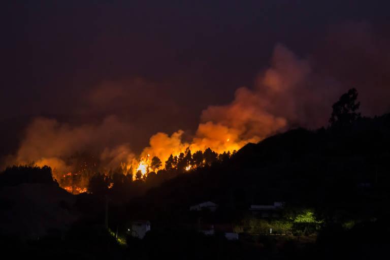 Mais de 4.000 são evacuados em Gran Canária