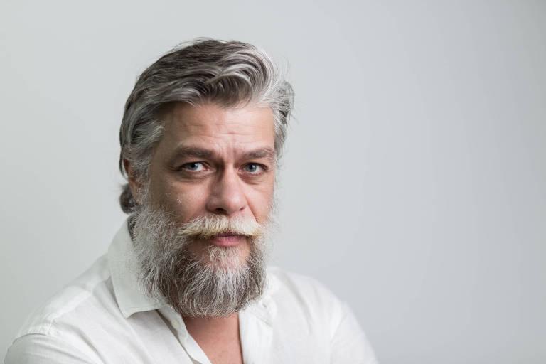 Retrato do ator Fábio Assunção no Rio de Janeiro