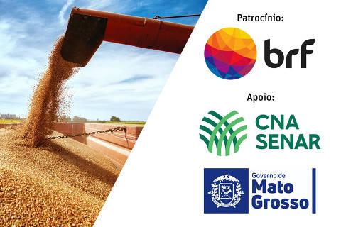 Selo com patrocinadores do 3º Fórum Agronegócio Sustentável (atualizado)