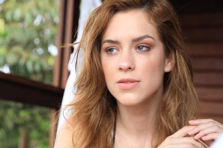 A atriz Sophia Abrahão