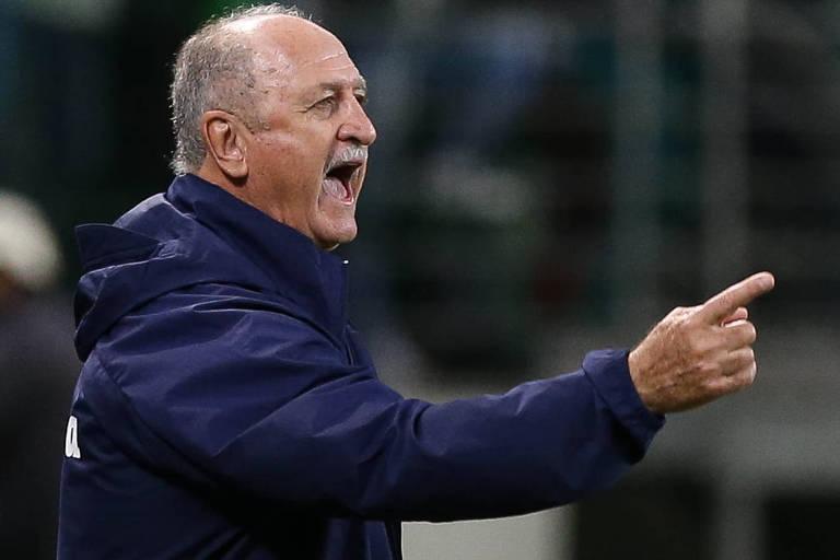 Felipão, técnico do Palmeiras