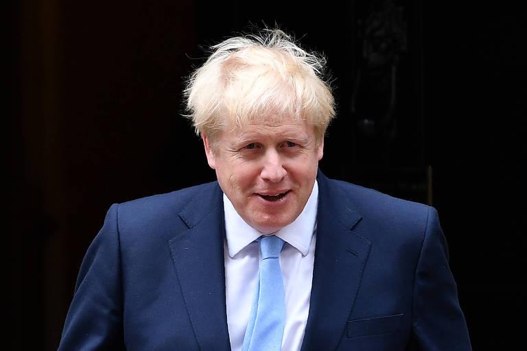 O premiê britânico, Boris Johnson