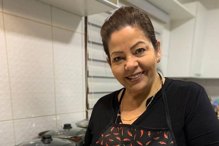 Iborema Almeida, influenciadora digital. Gerenciava o grupo Maria's Vem Comigo, no Instagram e Facebook